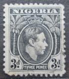 Poštovní známka Nigérie 1944 Král Jiří VI. Mi# 54
