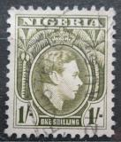 Poštovní známka Nigérie 1950 Král Jiří VI. Mi# 58 C