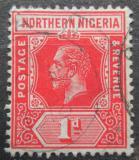 Poštovní známka Severní Nigérie 1912 Král Jiří V. Mi# 39