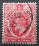 Poštovní známka Jižní Nigérie 1910 Král Edward VII. Mi# 34 II