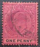 Poštovní známka Lagos 1904 Král Edward VII. Mi# 34