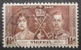 Poštovní známka Nigérie 1937 Královský pár Mi# 44