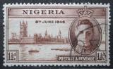 Poštovní známka Nigérie 1946 Konec války Mi# 62