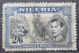 Poštovní známka Nigérie 1942 Ulice Victoria-Buea Mi# 60 aC Kat 5.50€