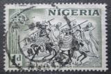 Poštovní známka Nigérie 1953 Jezdci na koních Mi# 72