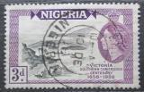 Poštovní známka Nigérie 1958 Přístav Victoria Mi# 85