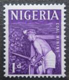 Poštovní známka Nigérie 1961 Horník Mi# 93