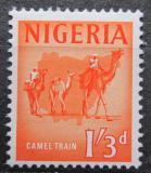 Poštovní známka Nigérie 1961 Velbloudí karavana Mi# 100