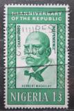 Poštovní známka Nigérie 1964 Herbert Macaulay, politik Mi# 154