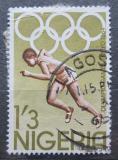 Poštovní známka Nigérie 1964 LOH Tokio, běh Mi# 158