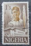 Poštovní známka Nigérie 1963 Nnamdi Azikiwe, politik Mi# 142