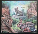 Poštovní známka Komory 2011 Divocí králici Mi# Block 631 Kat 13€
