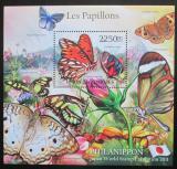 Poštovní známky Komory 2011 Motýli Mi# Block 619 Kat 11€