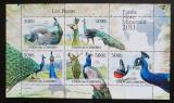 Poštovní známky Komory 2011 Pávi Mi# 3018-22 Kat 12€
