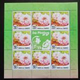 Poštovní známky Komory 2010 Pivoňky Mi# N/N
