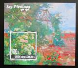 Poštovní známka Komory 2010 Pivoňky Mi# N/N
