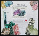 Poštovní známka Komory 2011 Minerály Mi# Block 611 Kat 10€