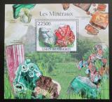 Poštovní známka Komory 2011 Minerály Mi# Block 612 Kat 11€