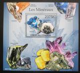 Poštovní známka Komory 2011 Minerály Mi# Block 613 Kat 12€