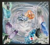 Poštovní známka Komory 2011 Minerály Mi# Block 614 Kat 13€