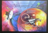 Poštovní známka Burundi 2012 Planety a Voyager 2 neperf. Mi# Block 320 B