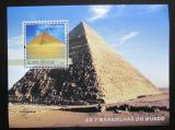Poštovní známka Guinea-Bissau 2003 Pyramidy Mi# Block 419 Kat 12€