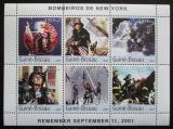 Poštovní známky Guinea-Bissau 2003 Hasiči z New Yorku Mi# 2394-99 Kat 11€