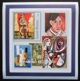Poštovní známka Guinea-Bissau 2001 Umění, Pablo Picasso Mi# 1619 Block