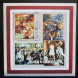 Poštovní známka Guinea-Bissau 2001 Umění, Pierre-Auguste Renoir Mi# 1624 Block