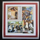 Poštovní známka Guinea-Bissau 2001 Umění, Pierre-Auguste Renoir Mi# 1626 Block