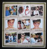 Poštovní známky Guinea-Bissau 2001 Princezna Diana Mi# 1929-37 Kat 8€