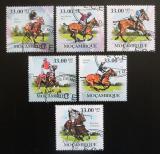 Poštovní známky Mosambik 2010 Dostihy Mi# 3786-91 Kat 10€