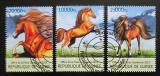 Poštovní známky Guinea 2013 Koně Mi# 9737-39 Kat 18€