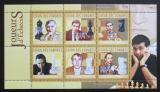 Poštovní známky Komory 2010 Slavní šachisti Mi# 2796-2801 Kat 10€