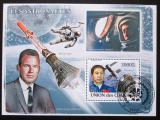 Poštovní známka Komory 2008 Astronauti Mi# Block 459 Kat 15€