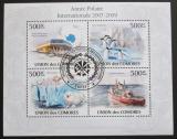 Poštovní známky Komory 2009 Polární rok Mi# 2727-30 Kat 9€