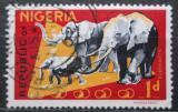 Poštovní známka Nigérie 1965 Sloni Mi# 176 A