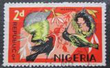 Poštovní známka Nigérie 1971 Ptáci Mi# 178 CII