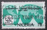 Poštovní známka Nigérie 1969 ILO, 50. výročí Mi# 225