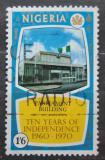 Poštovní známka Nigérie 1970 Budova parlamentu Mi# 242