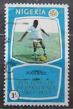 Poštovní známka Nigérie 1970 Fotbal Mi# 241