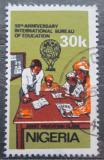 Poštovní známka Nigérie 1979 Mezinárodní úřad pro výchovu Mi# 363