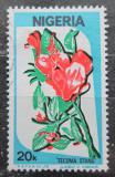 Poštovní známka Nigérie 1986 Květiny Mi# 479