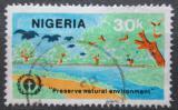 Poštovní známka Nigérie 1982 Ochrana životního prostředí Mi# 398