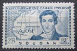 Poštovní známka Francouzský Súdán 1939 René Caillié Mi# 115