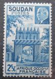 Poštovní známka Francouzský Súdán 1941 Maršál Pétain a brána v Djenné Mi# 136