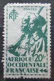 Poštovní známka Francouzská Západní Afrika 1945 Koloniální vojáci Mi# 22