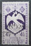 Poštovní známka Francouzská Rovníková Afrika 1941 Fénix Mi# 173