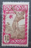 Poštovní známka Francouzská Guyana 1929 Lukostřelec Mi# 114