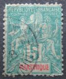 Poštovní známka Martinik 1892 Koloniální alegorie Mi# 29